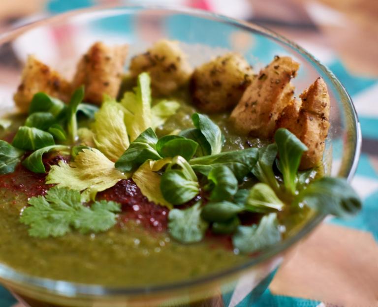 zupa krem z grzankami 2